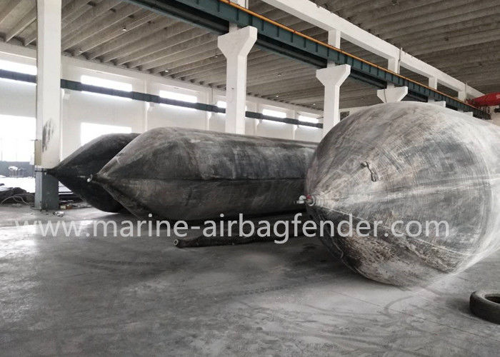 Ship Landing Boat Lift Air Bags Cylinder Body Multi - Layer SGS Certification
